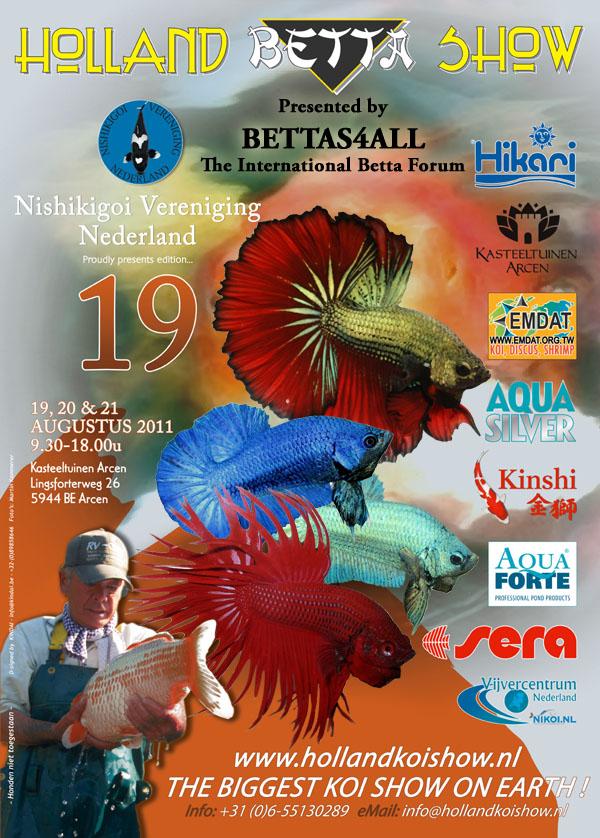 Holland betta show 2018 holland betta show 2011 for Show betta fish